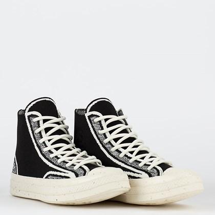Tênis Converse Chuck 70 Hi Renew Knit Black Lime Twist 171486C