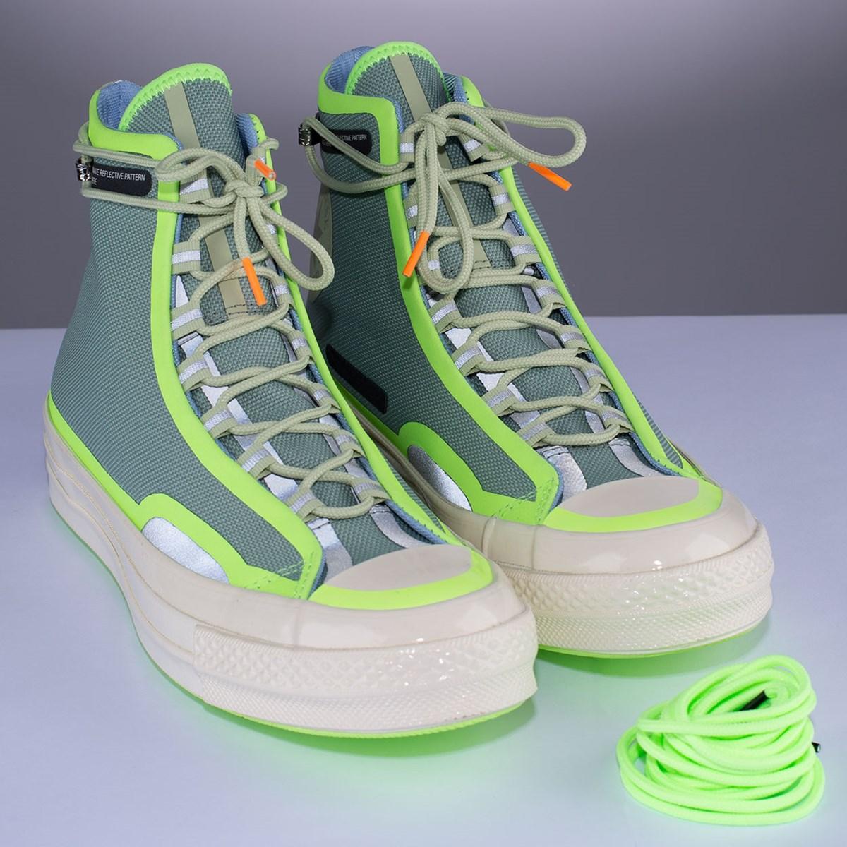 Tênis Converse Chuck 70 Hi Seam Tape Iceberg Green 169526C