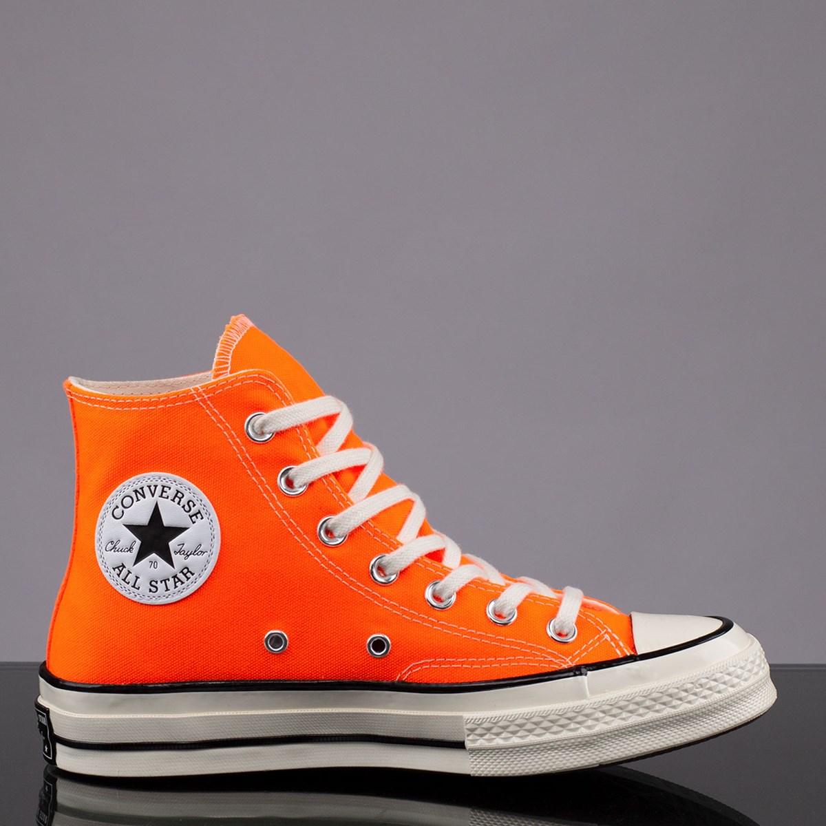 Tênis Converse Chuck 70 Hi Seasonal Color Total Orange 167700C