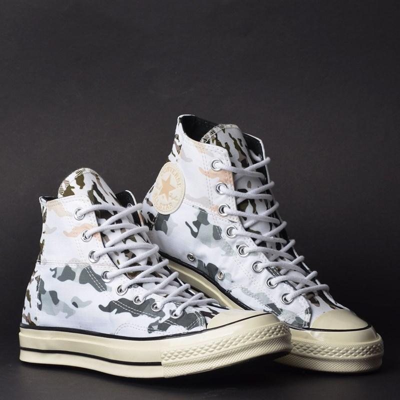 Tênis Converse Chuck 70 Hi White Carbon Grey 165913C