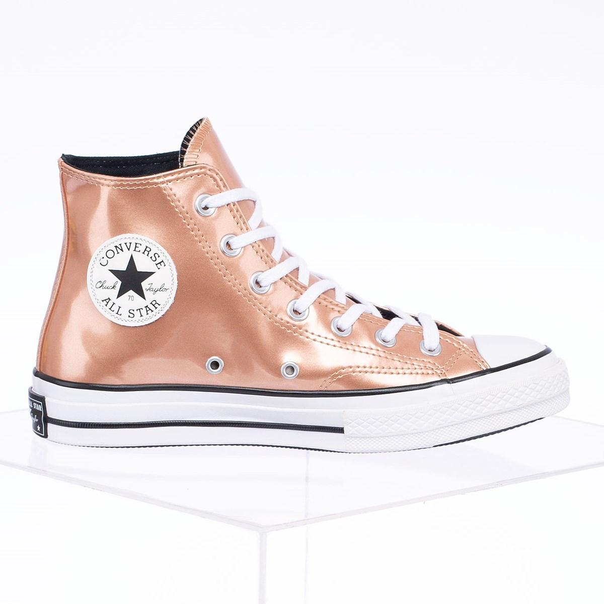 Tênis Converse Chuck 70 Industrial Glam Hi Ouro Escuro CT15010002