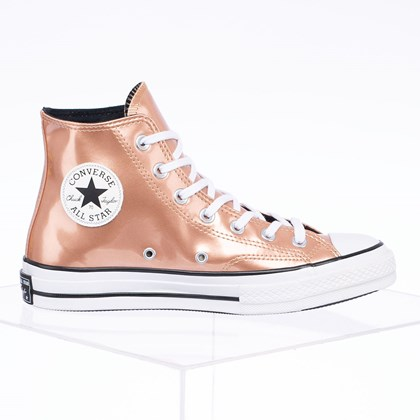 Tênis Converse Chuck 70 Industrial Glam Hi Ouro Escuro CT15010002
