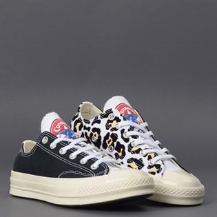 Tênis Converse Chuck 70 Logo Play Ox White Black 166749C
