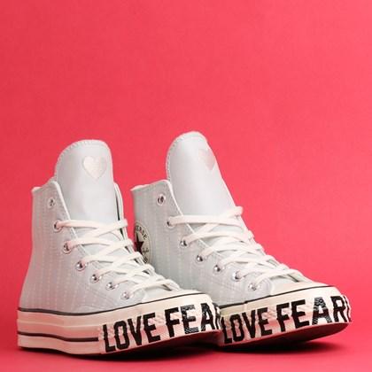 Tênis Converse Chuck 70 Love Fearlessly Hi Photon Dust Egret 567152C