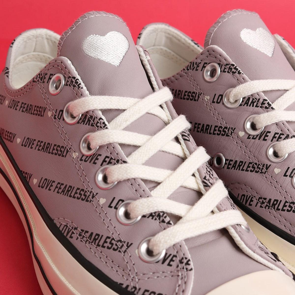Tênis Converse Chuck 70 Love Fearlessly Ox Amethyst Grey Egret 567154C