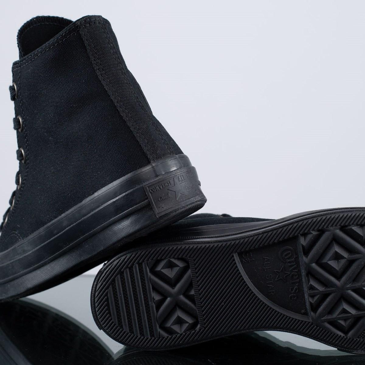 Tênis Converse Chuck 70 Mono Color Hi Black Almost Black 168928C