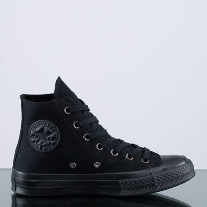 Tênis Converse Chuck 70 Mono Color Hi Black Almost Black 168928C