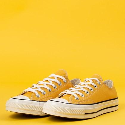 Tênis Converse Chuck 70 Ox Amarelo Ouro CT09560001