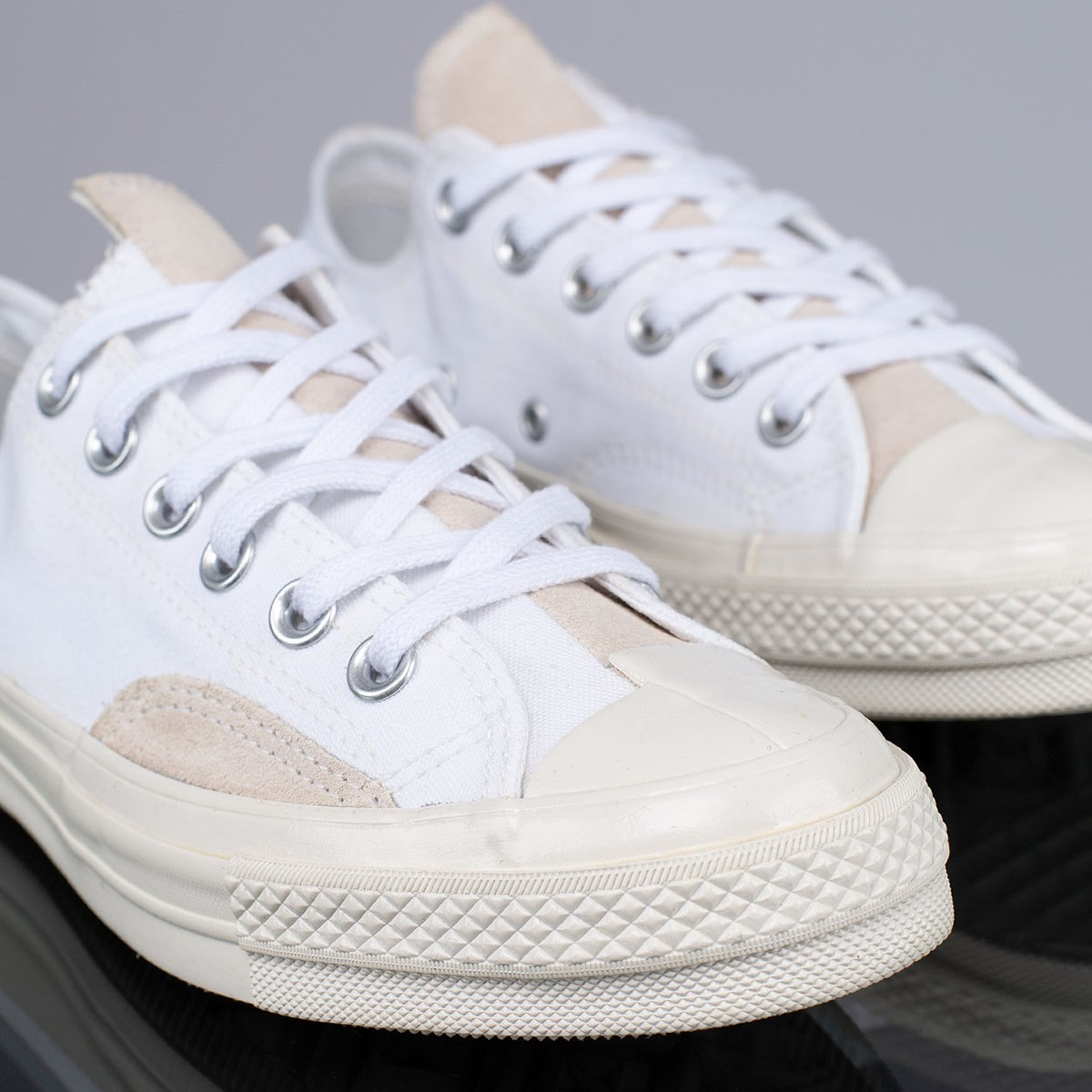 Tênis Converse Chuck 70 Ox Branco Vermelho CT15000001