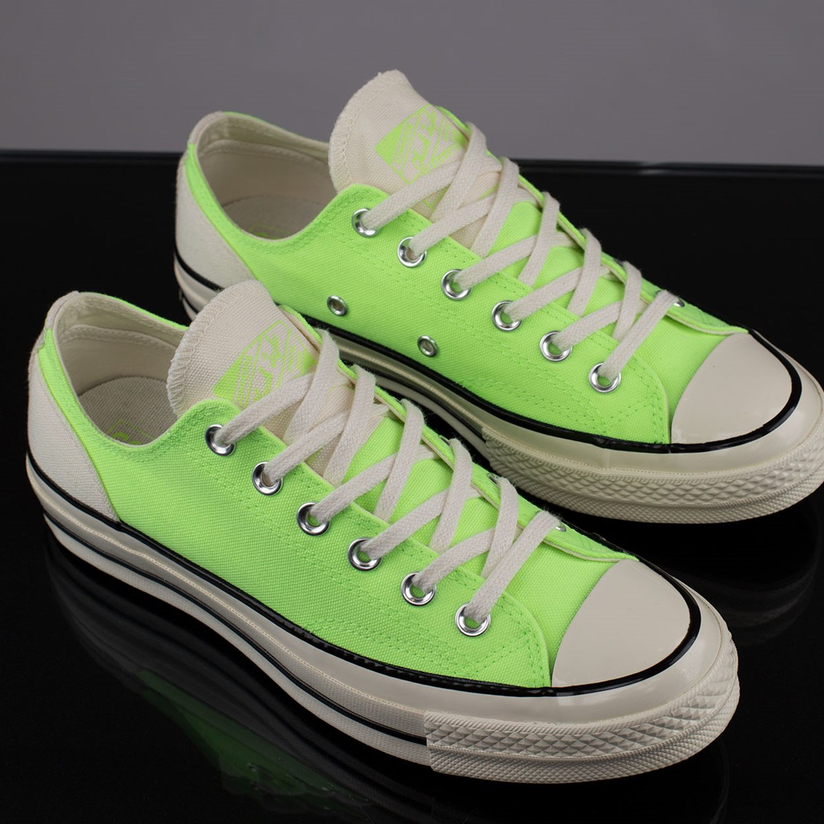 Tênis Converse Chuck 70 Ox Psychedelic Hoops Ghost Green 167826C
