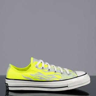 Tênis Converse Chuck 70 Ox Verde Fluor Prata Puro CT15540002