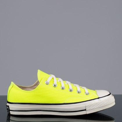 Tênis Converse Chuck 70 Ox Verde Fluor Preto CT15490001
