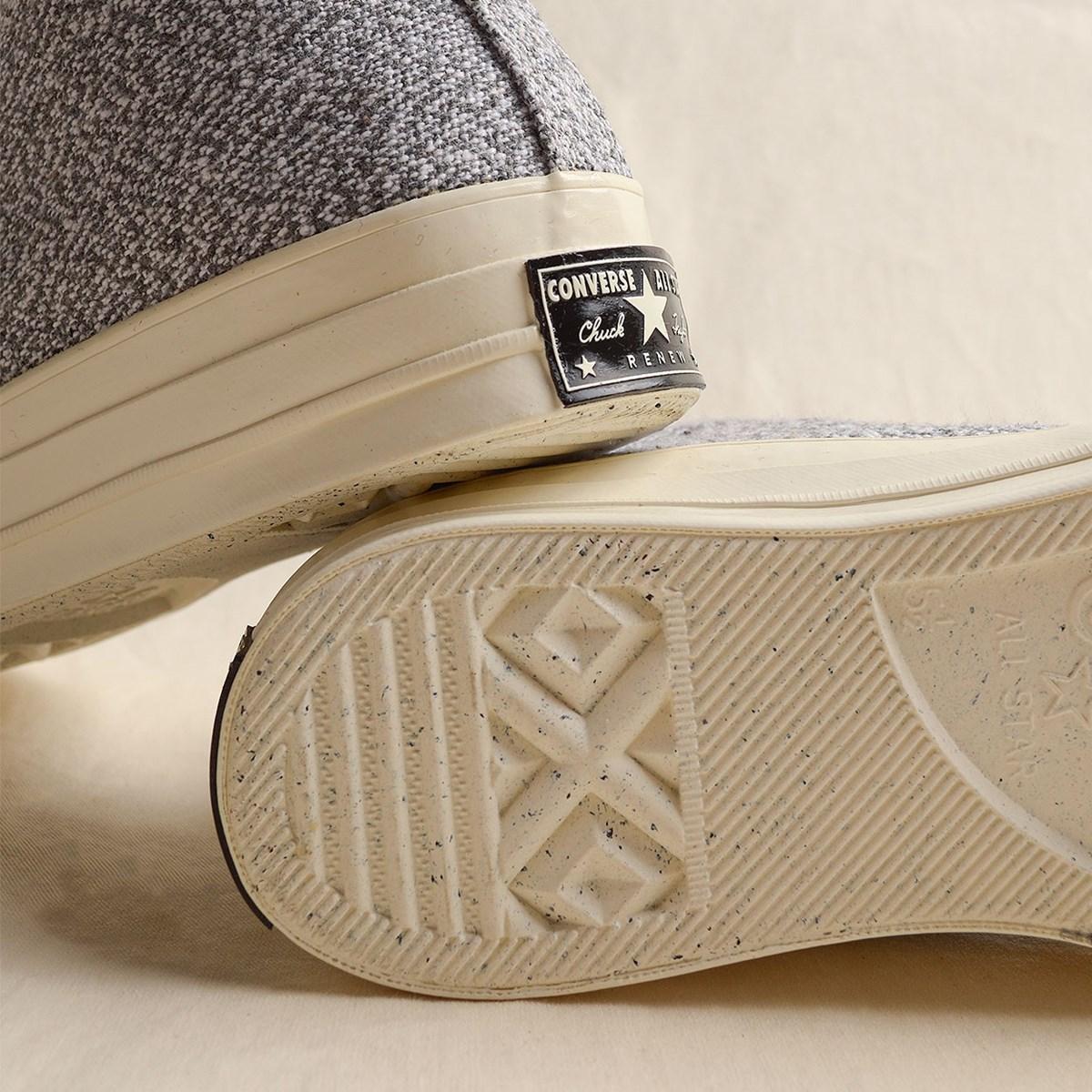 Tênis Converse Chuck 70 Renew Cotton Hi Black White 166702C