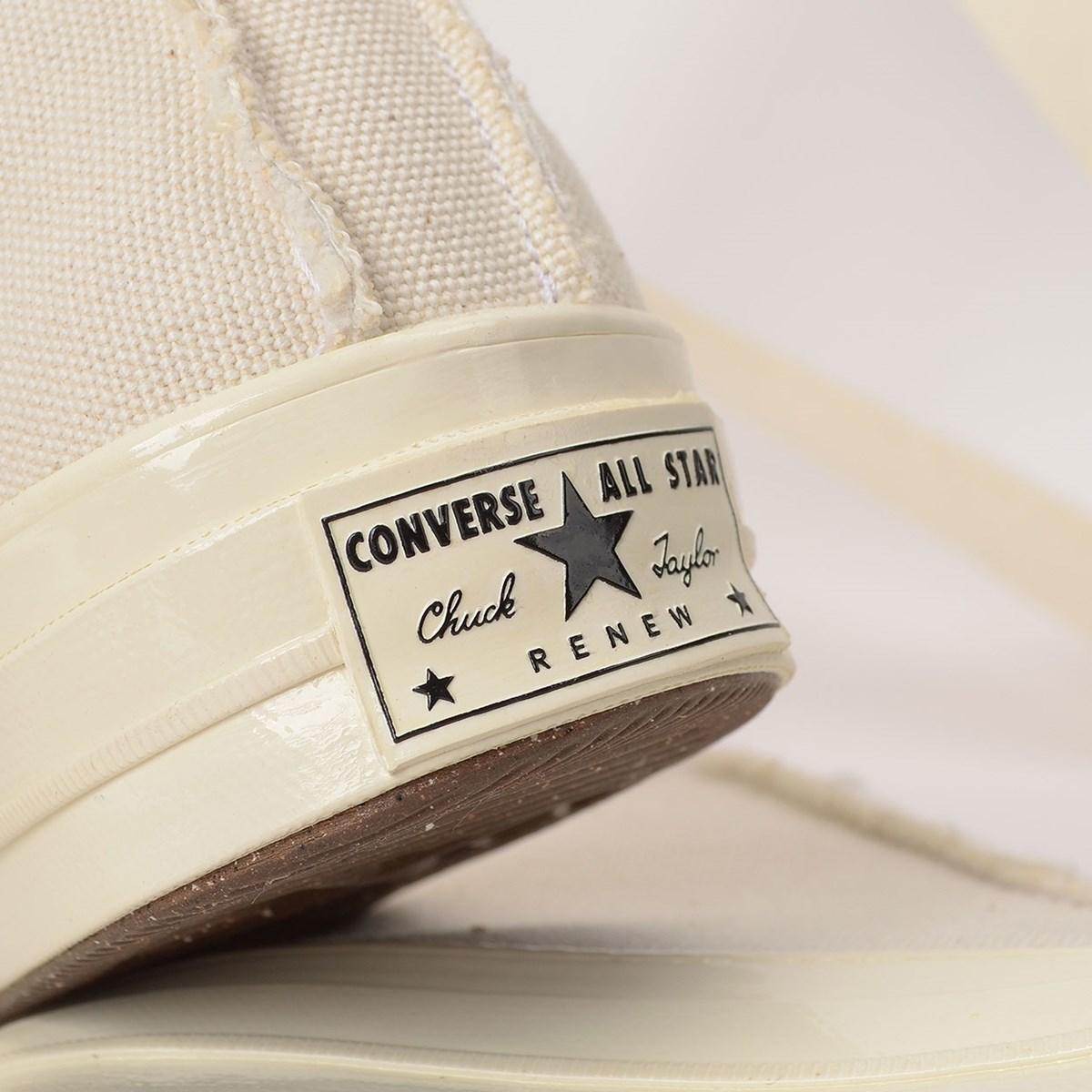 Tênis Converse Chuck 70 Renew Hi Egret Natural 167749C