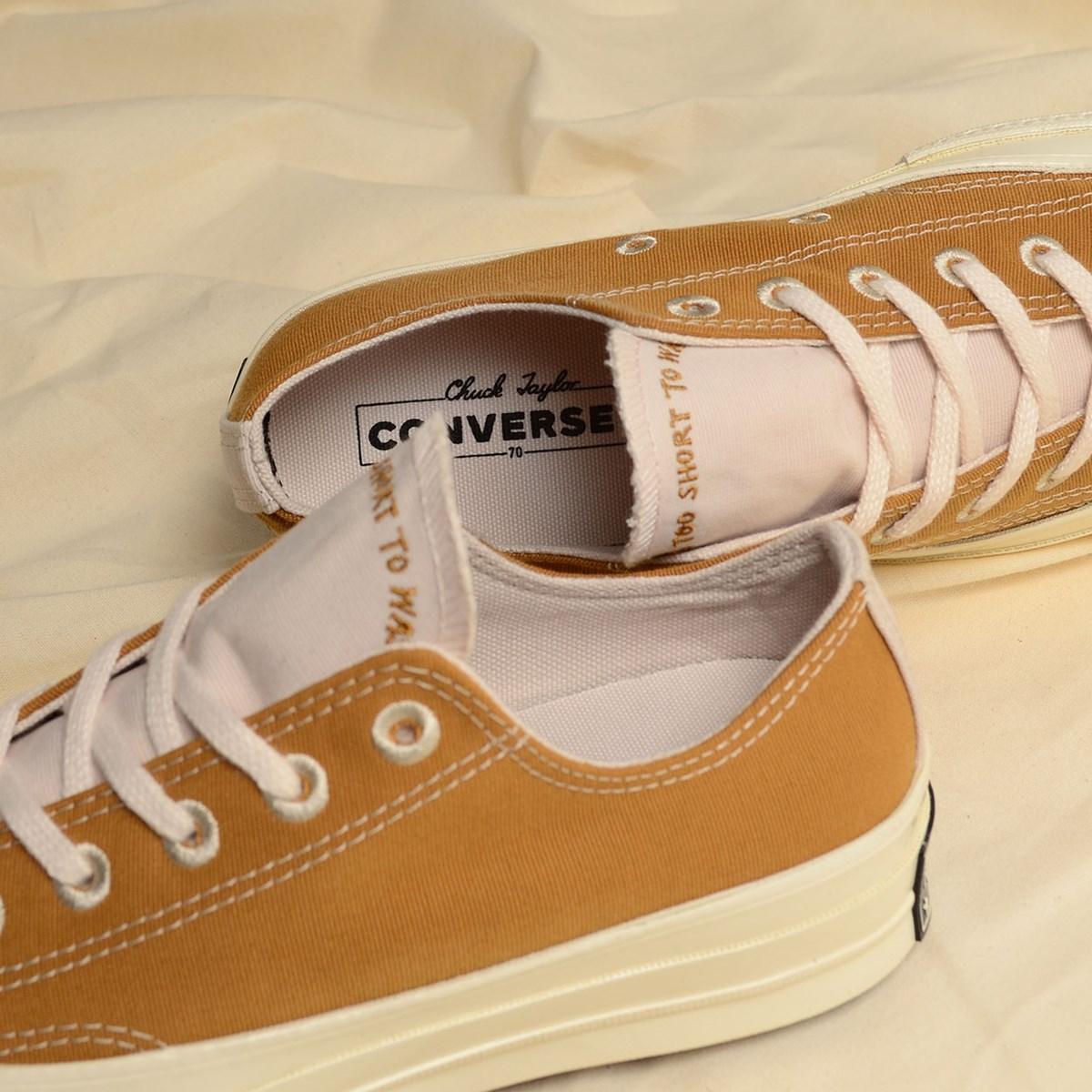 Tênis Converse Chuck 70 Renew Ox Wheat 165423C