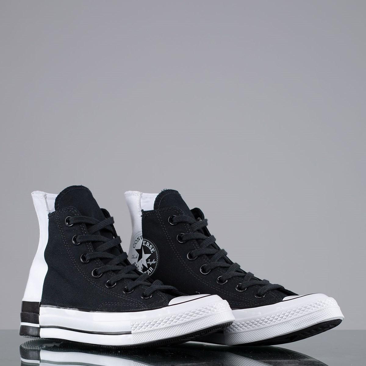 Tênis Converse Chuck 70 Rivals Hi Black White Black 168670C