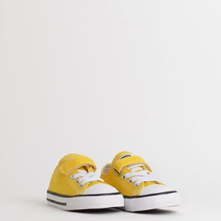 Tênis Converse Chuck Taylor All Star 1V Kids Ox Amarelo Vivo CK08150004