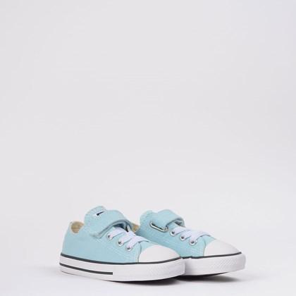 Tênis Converse Chuck Taylor All Star 1V Kids Ox Azul bebê CK08150009