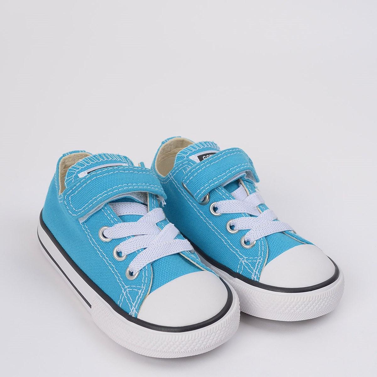 Tênis Converse Chuck Taylor All Star 1V Kids Ox Azul Náutico CK08150008