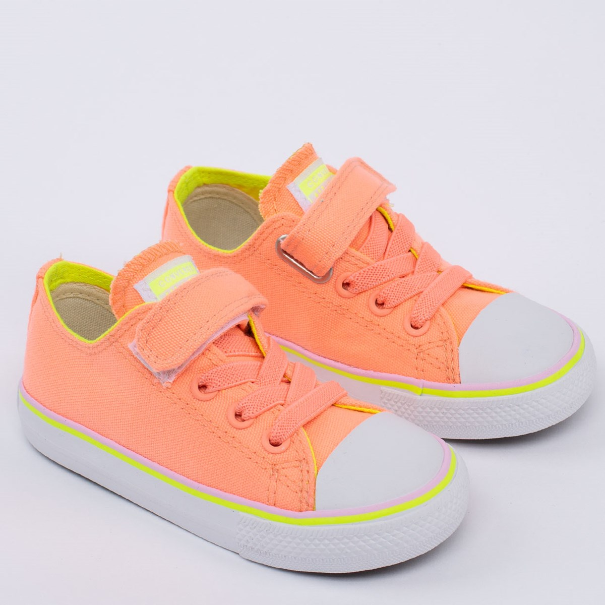 Tênis Converse Chuck Taylor All Star 1V Kids Ox Coral CK08560004