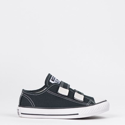 Tênis Converse Chuck Taylor All Star 2V Border Kids Preto CK05070002