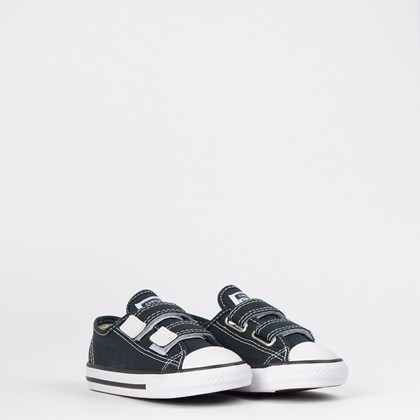 Tênis Converse Chuck Taylor All Star 2V Border Kids Preto CK05080002