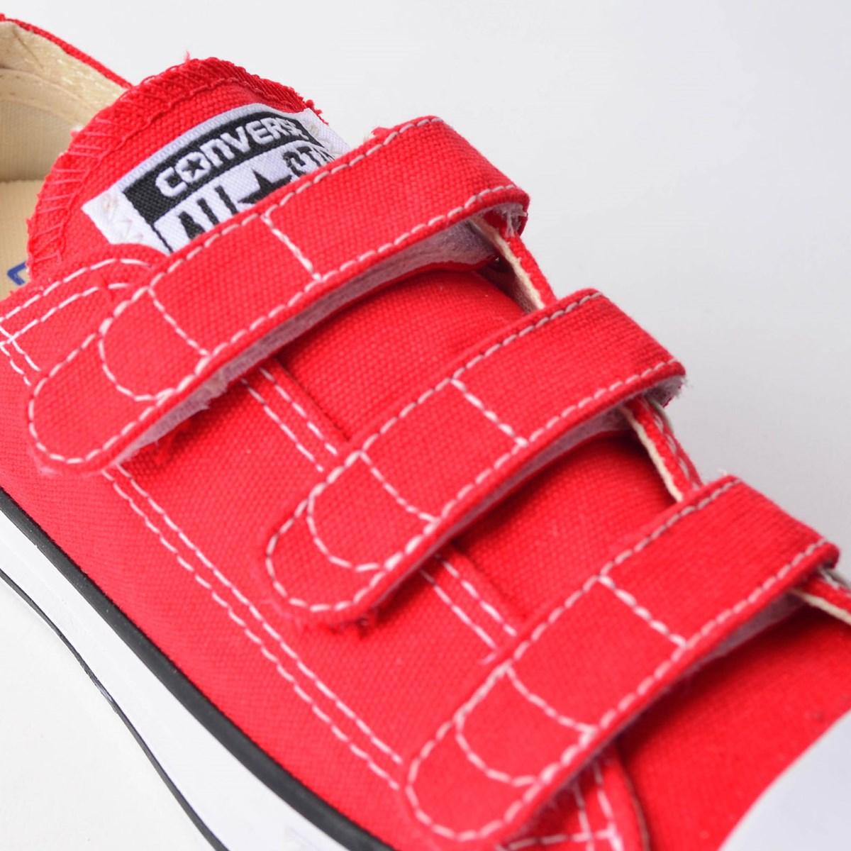 Tênis Converse Chuck Taylor All Star 3V Kids Vermelho CK04170002