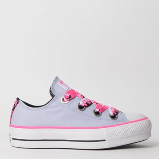 Tênis Converse Chuck Taylor All Star Big Eyelet Platform Lift Ox Lavanda CT11900002
