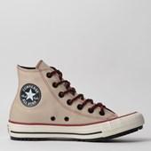 Tênis Converse Chuck Taylor All Star Boot Hi Marfim Beterraba CT12840002