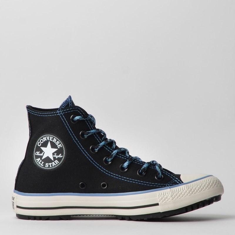 Tênis Converse Chuck Taylor All Star Boot Hi Preto Azul Marinho CT12840001