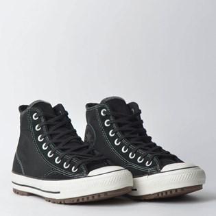 34f9725f945 ... Tênis Converse Chuck Taylor All Star Boot Hi Preto Preto Amendoa  CT11760001