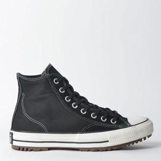 6040f373539 Tênis Converse Chuck Taylor All Star Boot Hi Preto Preto Amendoa CT11760001  ...
