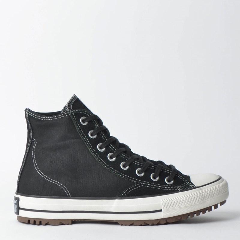 54255f8c93b Tênis Converse Chuck Taylor All Star Boot Hi Preto Preto Amendoa CT11760001