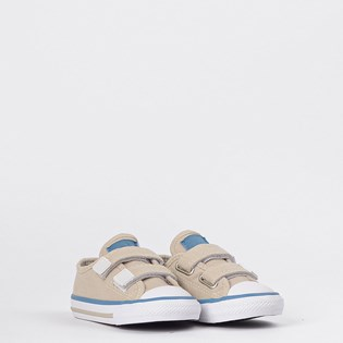 Tênis Converse Chuck Taylor All Star Border 2V Kids Marfim CK07920001