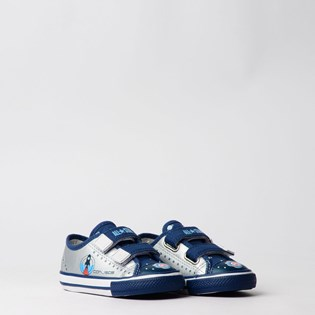 Tênis Converse Chuck Taylor All Star Border 2V Kids Prata CK07590001