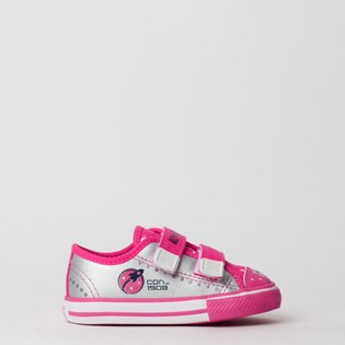 Tênis Converse Chuck Taylor All Star Border 2V Kids Prata CK07600001