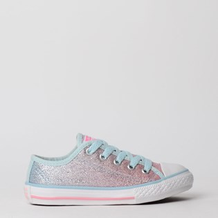 Tênis Converse Chuck Taylor All Star Border Kids Ox Azul Bebe CK07480002
