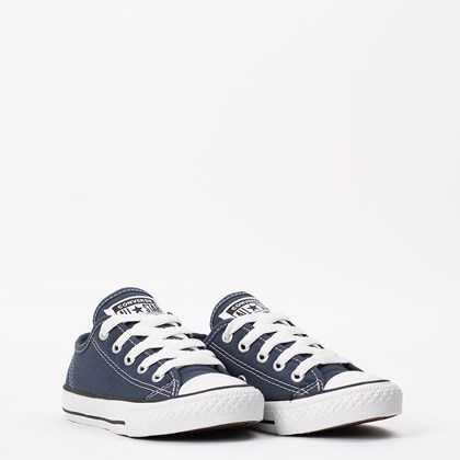 Tênis Converse Chuck Taylor All Star Border Kids Ox Marinho CK05050003