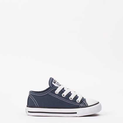 Tênis Converse Chuck Taylor All Star Border Kids Ox Marinho CK05060003