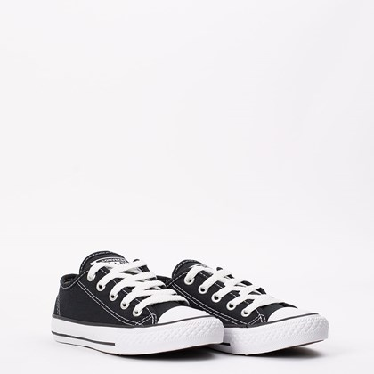 Tênis Converse Chuck Taylor All Star Border Kids Ox Preto CK05050002