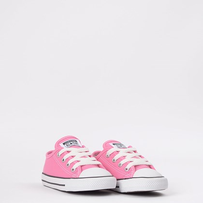 Tênis Converse Chuck Taylor All Star Border Kids Ox Rosa CK05060006