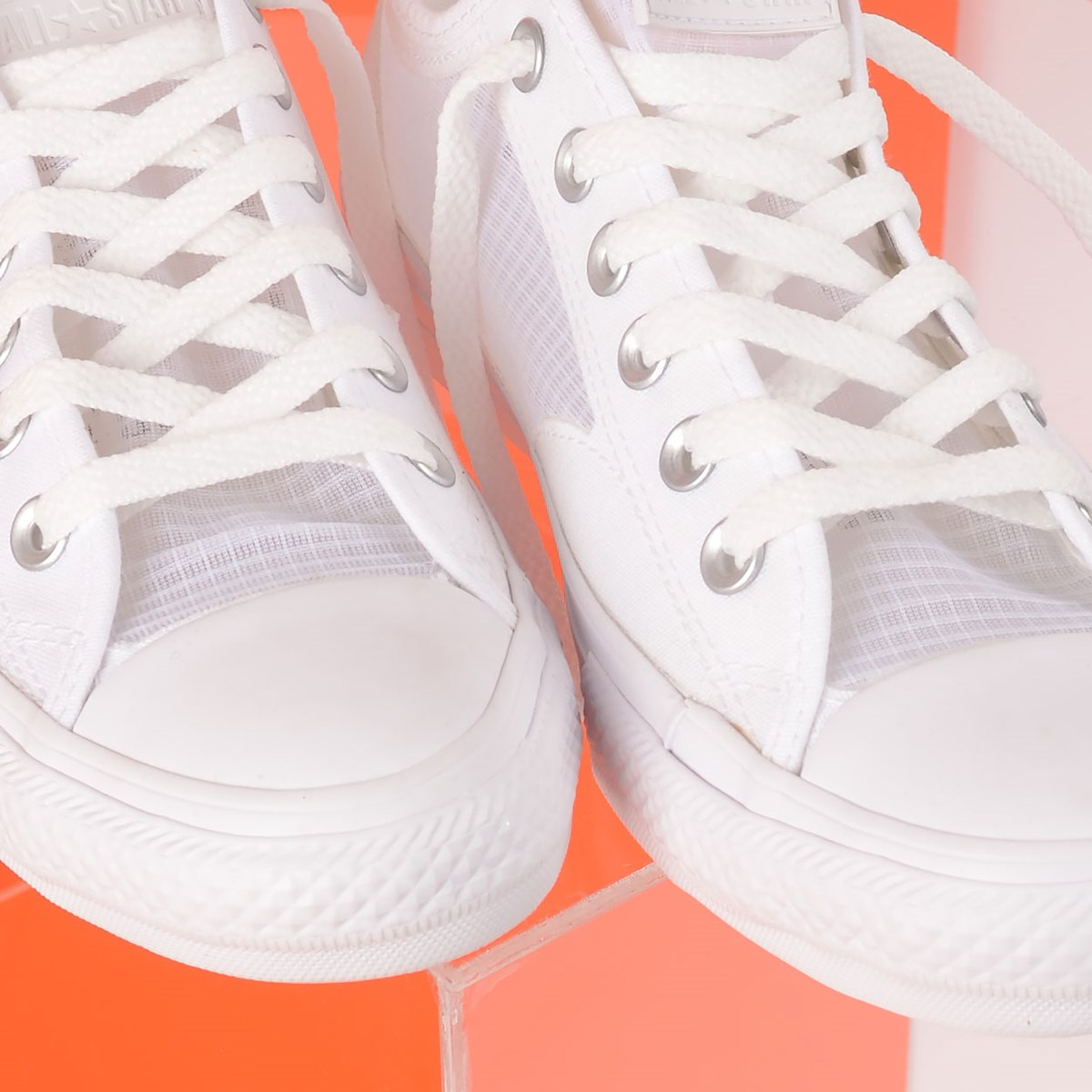 Tênis Converse Chuck Taylor All Star Breathe Ox Branco Branco CT14890001