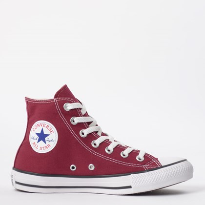 Tênis Converse Chuck Taylor All Star Core Hi Bordo CT00040008