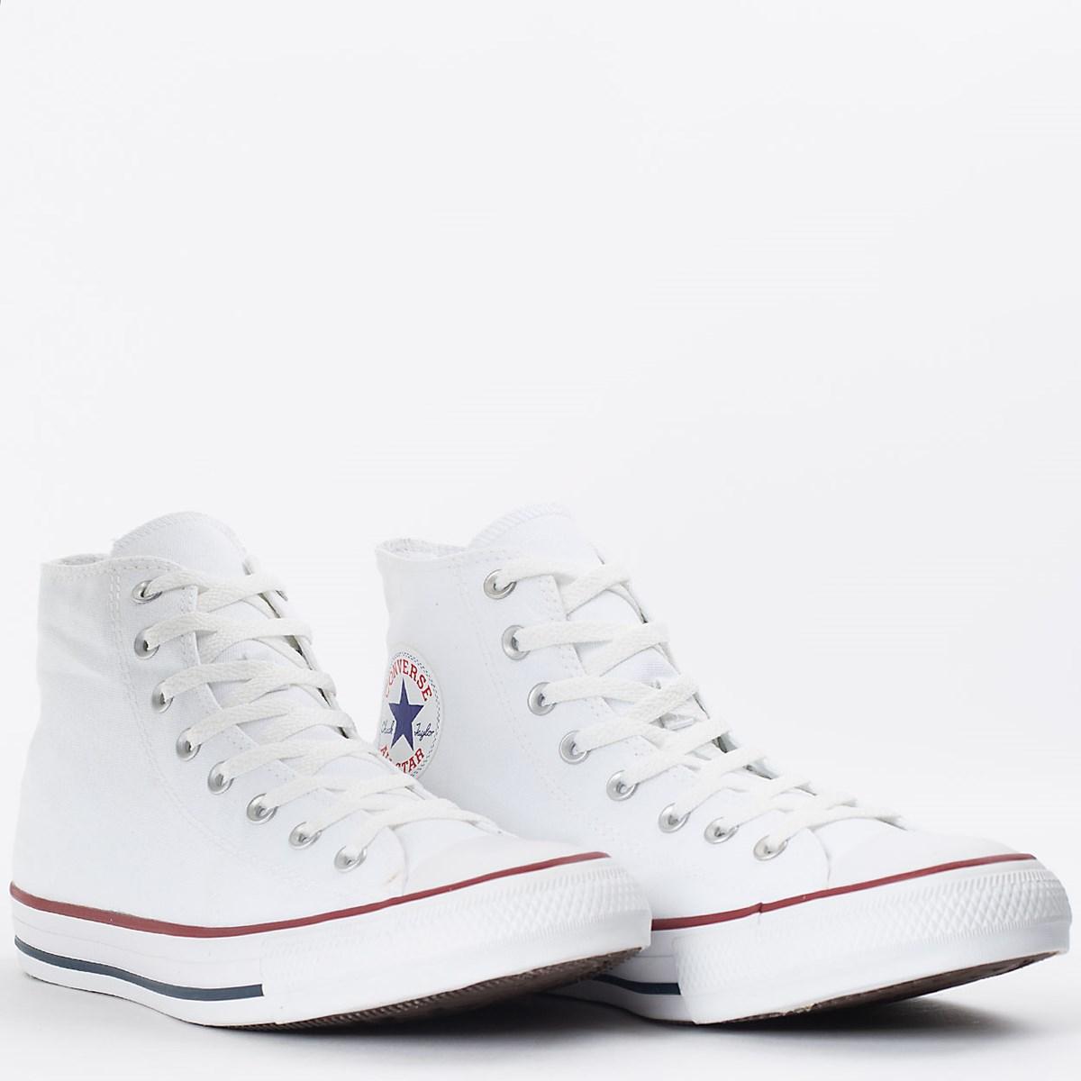 Tênis Converse Chuck Taylor All Star Core Hi Branco CT00060001