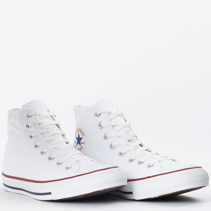 Tênis Converse Chuck Taylor All Star Core Hi Branco CT00060001