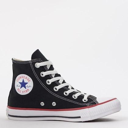 Tênis Converse Chuck Taylor All Star Core Hi Preto Vermelho CT00040007