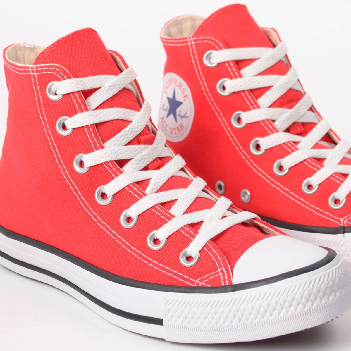 Tênis Converse Chuck Taylor All Star Core Hi Vermelho CT00040004