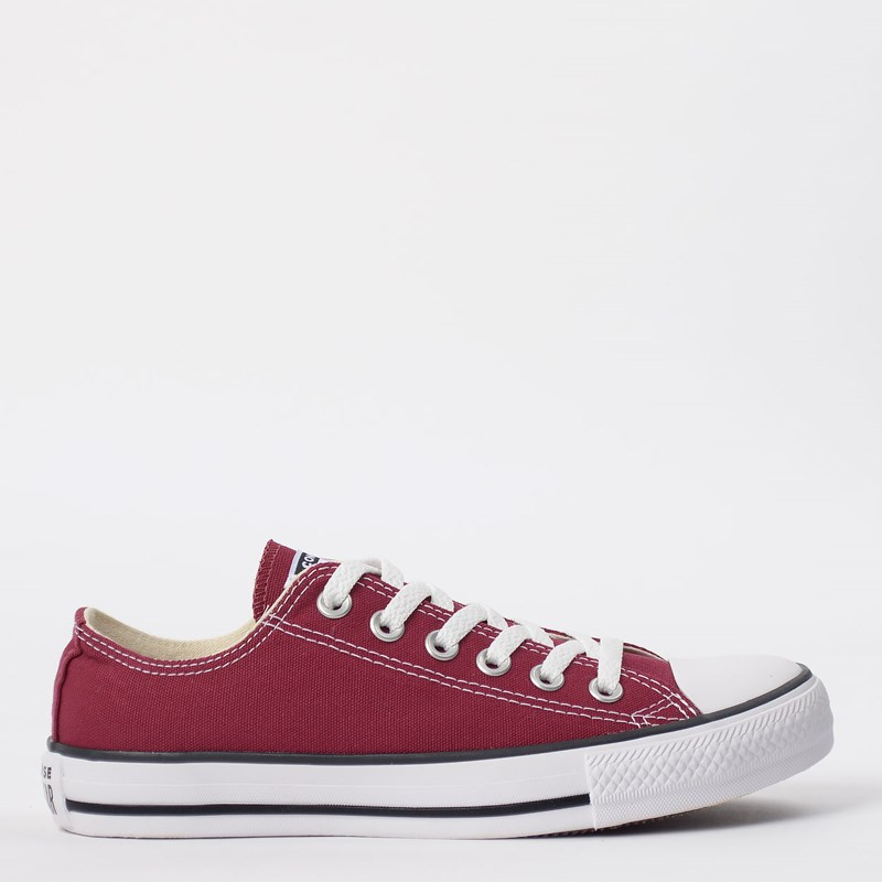Tênis Converse Chuck Taylor All Star Core Ox Bordo CT00010008