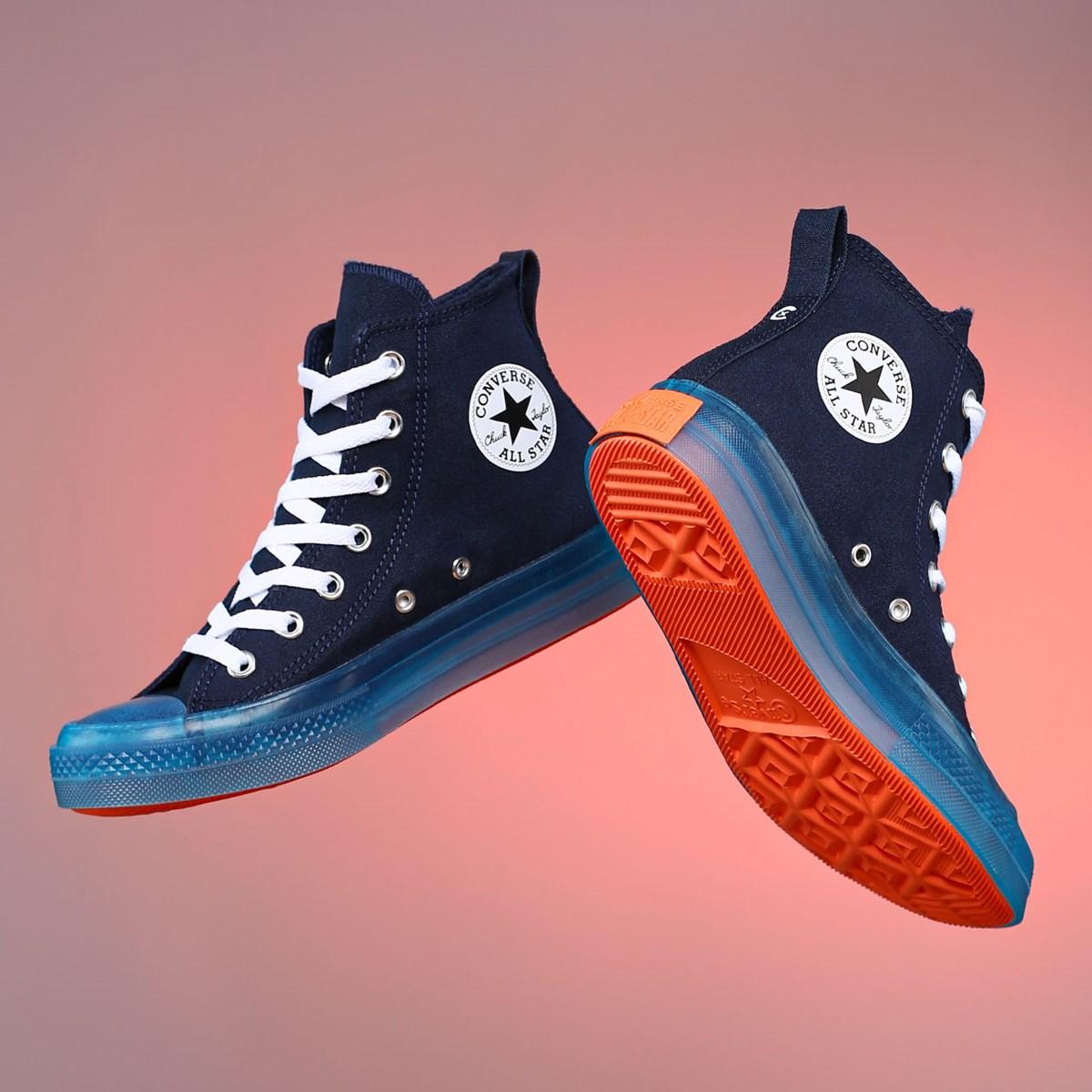 Tênis Converse Chuck Taylor All Star CX Canvas Color Hi Obsidian Sail Blue Wild Mango 168566C