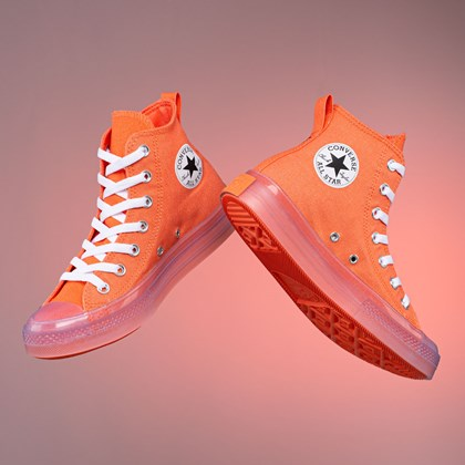 Tênis Converse Chuck Taylor All Star CX Canvas Color Hi Wild Mango Clear 168567C